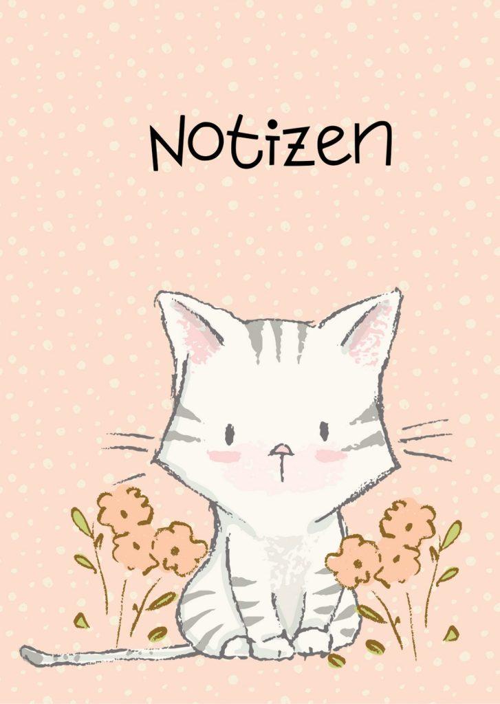 Notizbuch Tigerkätzchen von miniKatz Papers