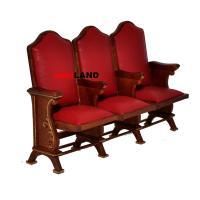 Miniature triple seats THEATER CHAIR dollhouse cinema 1:12 ...