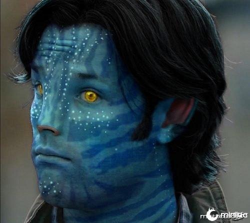 Sa'm (Super'natural) - Avatar  Photoshop por Avatizer.