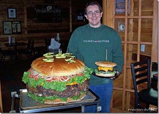 maior sanduiche