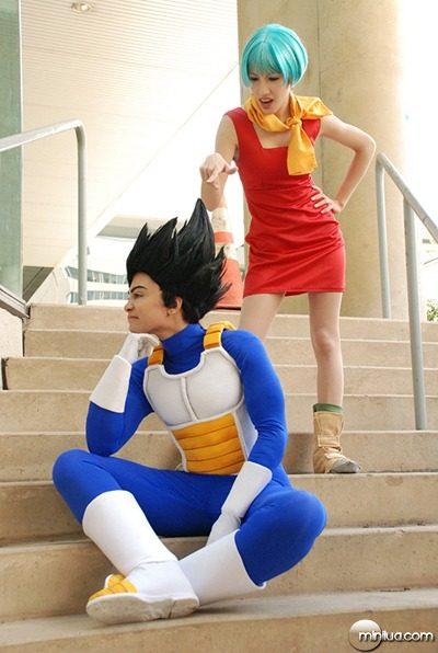 DBZ_cosplay___Vegeta_and_Bulma_by_TechnoRanma
