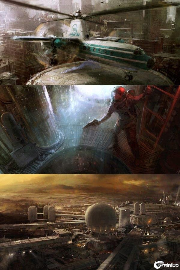 Incríveis trabalhos de arte digital #3