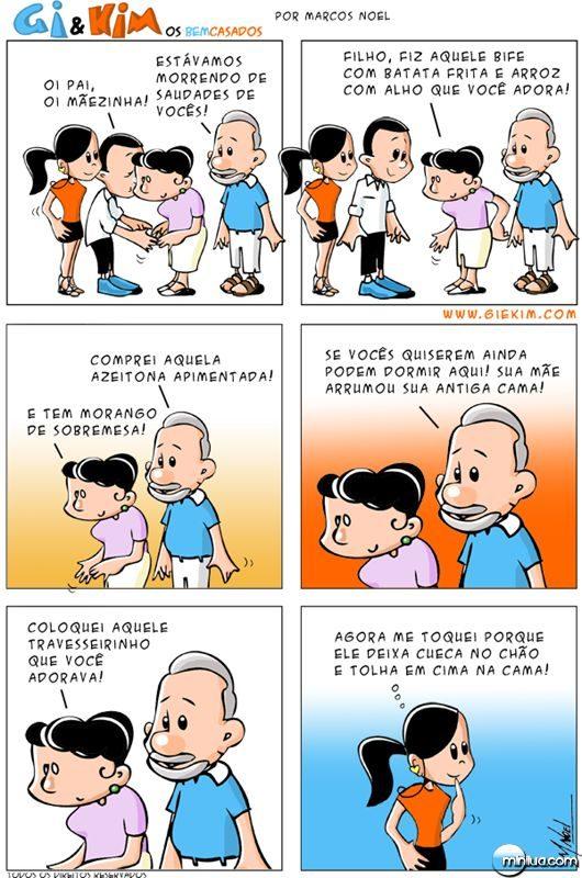 Bem Casados Tirinha 0107