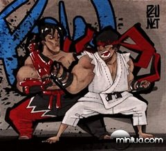 fighting-in-street-art07