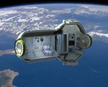 Que tal passar uma noite no espaço?