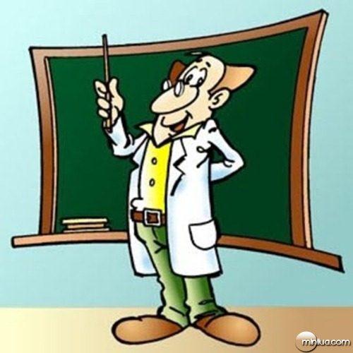 Professor - Boneco para ilustração
