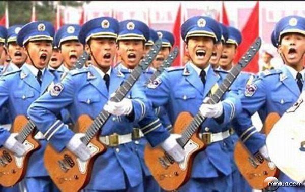 militares em momentos engraçados