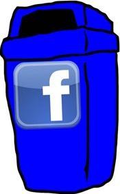 lixo facebook