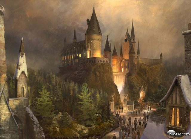 HOGWARTS CASTLE – The Wizarding World of Harry Potter at Universal's Islands of Adventure will provide visitors with a one-of-a-kind experience complete with multiple attractions, shops and a signature eating establishment. This completely immersive environment will transcend generations and bring the wonder and magic of the amazingly detailed Harry Potter books and films to life