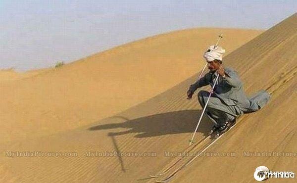desert-skiing-funny-india