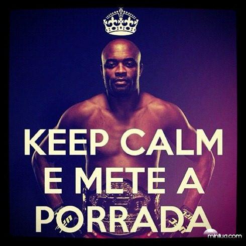 keep calm porrada anderson
