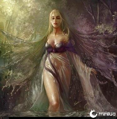 fairy-of-lake