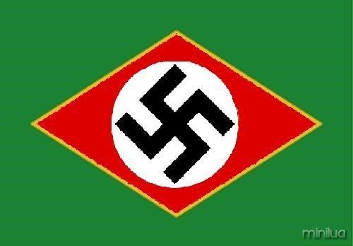 brasil nazi flag