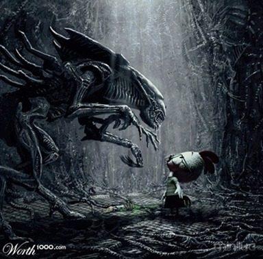 versus alien little_thumb
