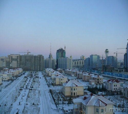 Kazakhstan Astana cold