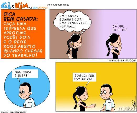 Bem Casados Tirinha 0329