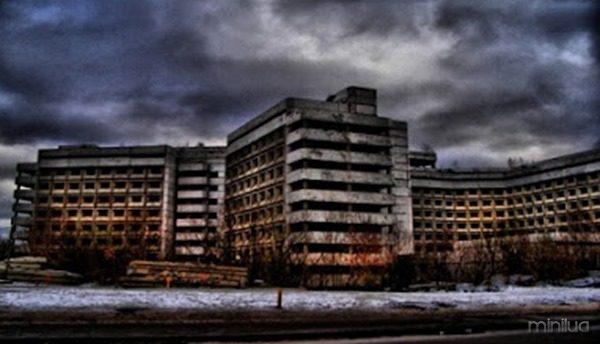 O hospital macabro de Moscou