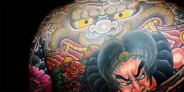 Tatuagem Japonesa colorido