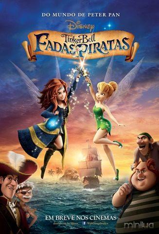 Tinker Bell Fadas e Piratas