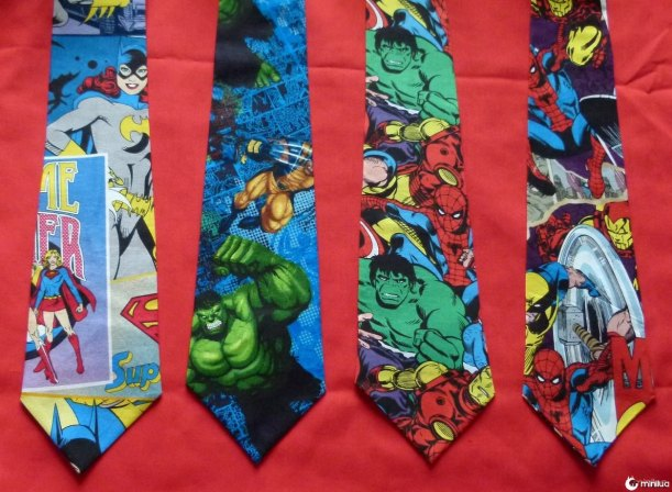 group hero ties