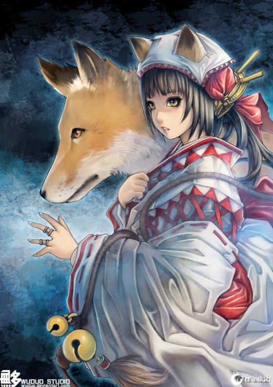 fox_and_miko_by_wuduo-d3h6966