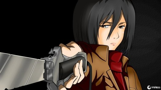 mikasa_coloration_by_sessinara-d7fpf7s
