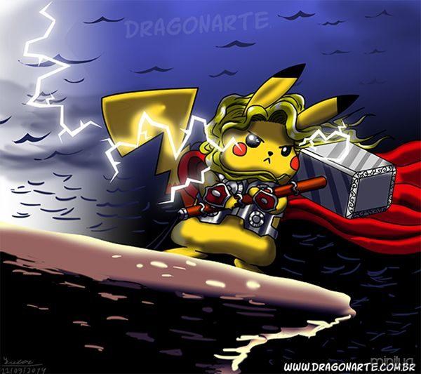 dragonarte_pikachu_thor_post