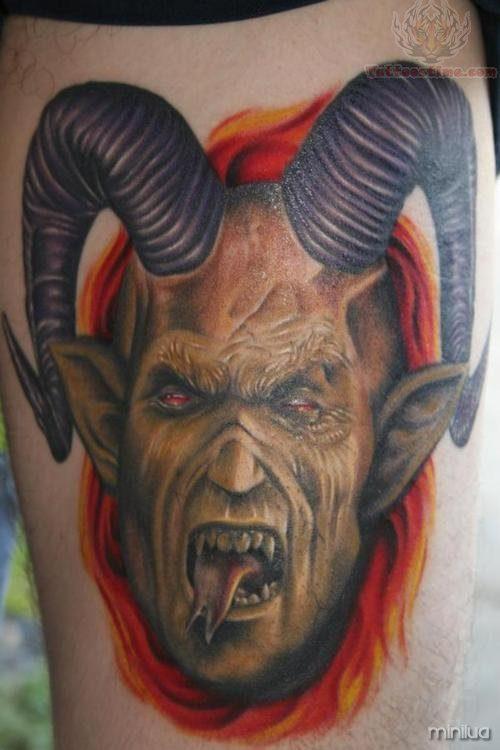 goat-head-devil-tattoo