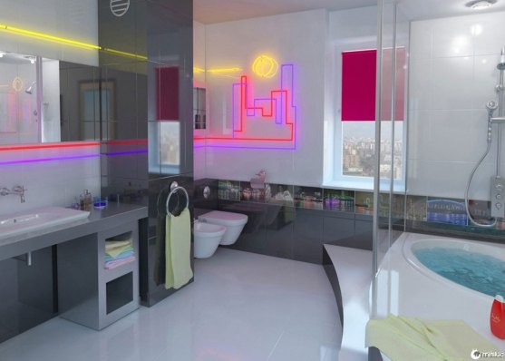 retro-deluxe-bathrooms-with-high-technology-light