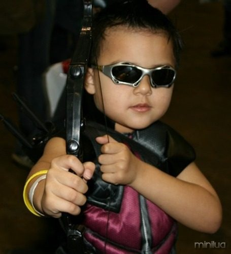 Hawkeye-Cosplay-child-MegaCon-2013