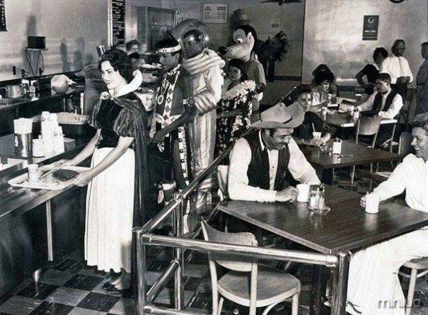 Cafetería de Disney en 1961.
