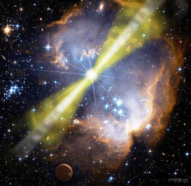 Explosões de raios gama