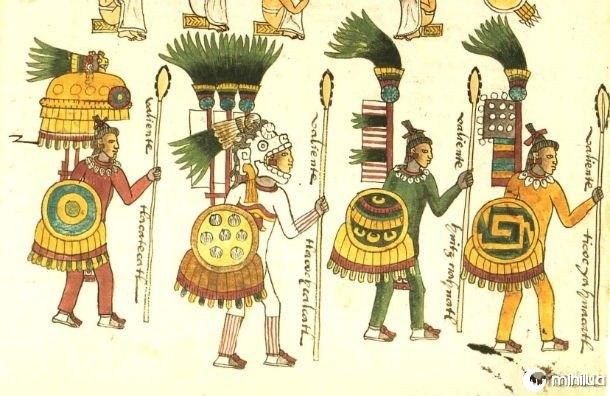 Os guerreiros astecas
