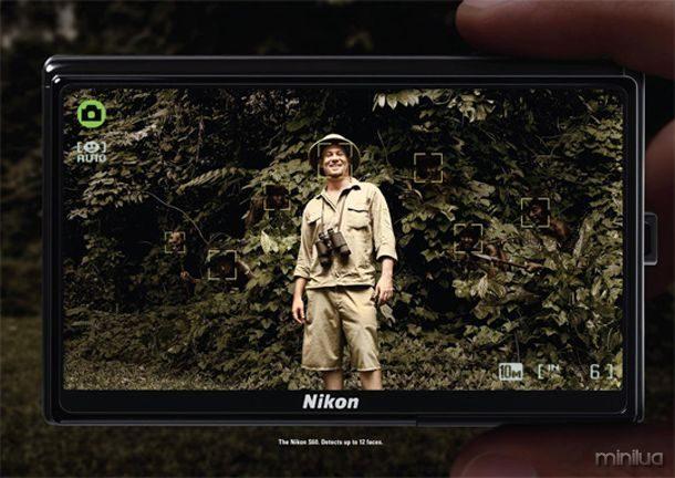Nikon Detecção de Cara