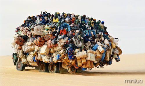 balanceamento de carga de caminhão