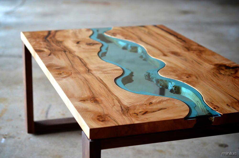 Irregular-wood-and-glass-river-coffee-table