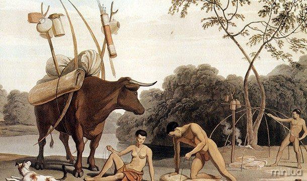 Os seres humanos são os melhores corredores de longa distância do planeta. No passado, eles ainda usado para caçar suas presas até a exaustão.