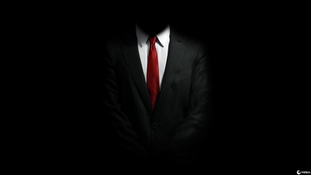 Black Suit, White Shirt, Red Tie, Style