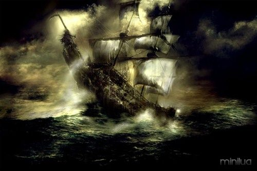Phantom Ships That Still Haunt The Oceans