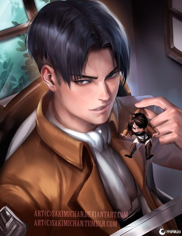 levi_s_evil_plan_by_sakimichan-d8cn6lh