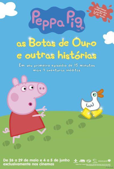 Peppa Pig As Botas de Ouro e Outras Histórias