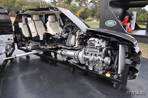 Uma Range Rover 2014
