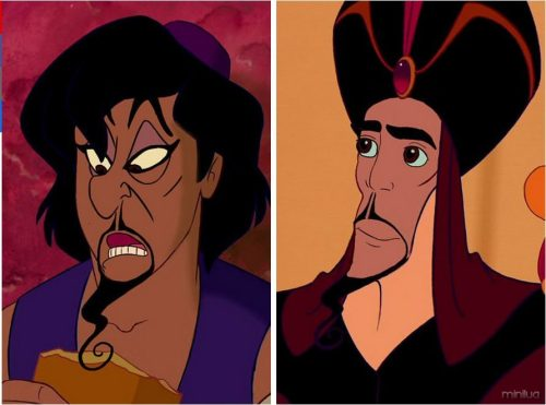 . Aladdin and Jafar
