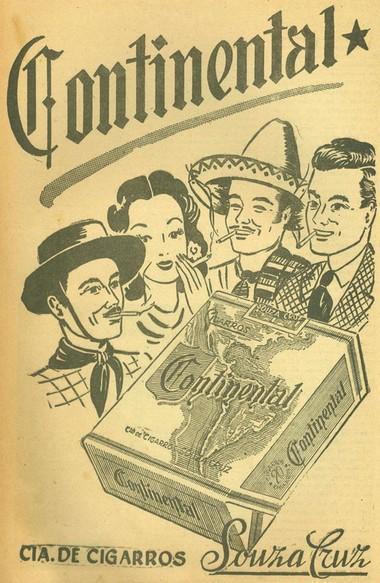 continental - marboro - astoria - marcas de cigarros - anuncios antigos - BLOG DO IBA MENDES
