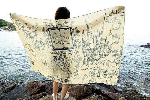 lenço do mapa do Maroto