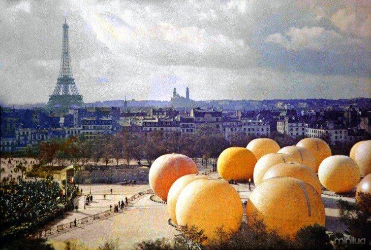 Paisagem de Paris no século XX