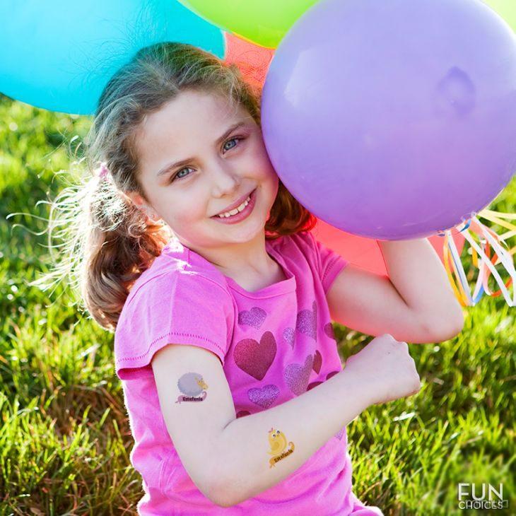 tatuagens temporárias para crianças