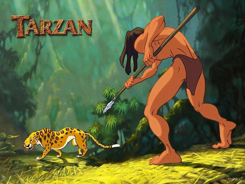tarzan-against-tiger