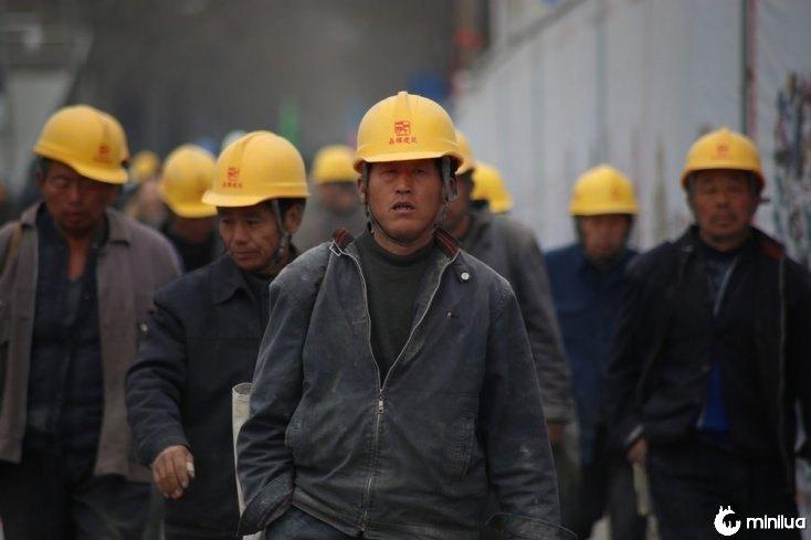 mineiro de carvão na China