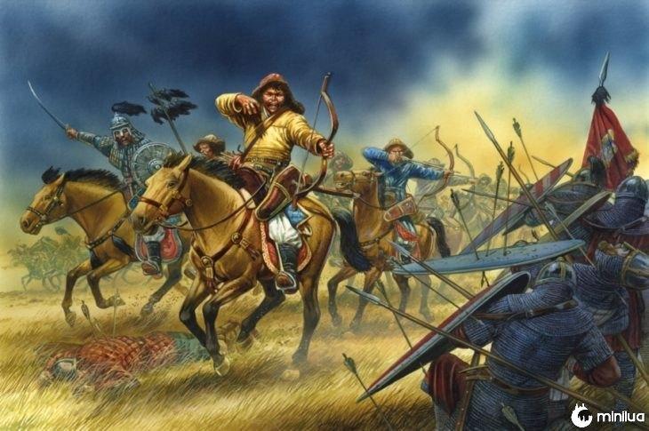 exército mongol